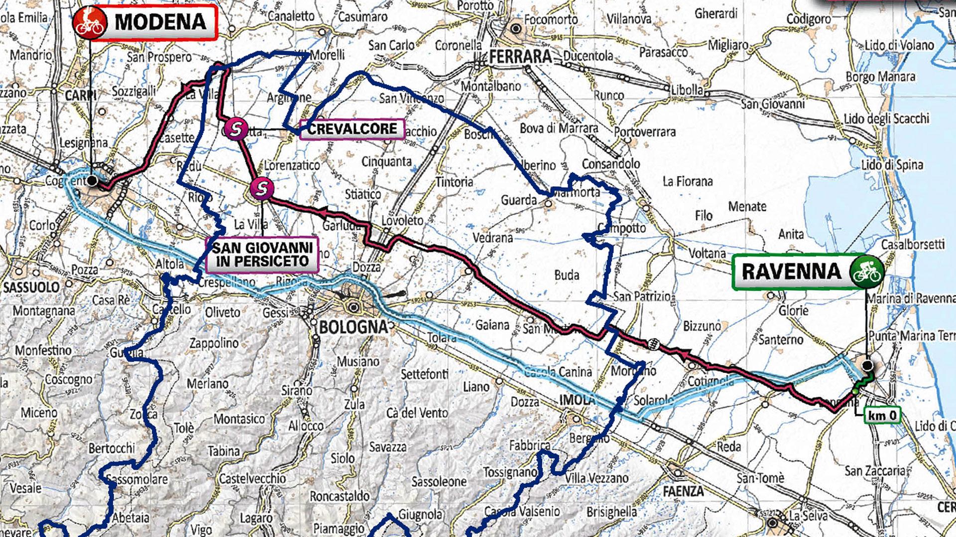ll Giro d'Italia torna nel territorio metropolitano: martedì 21 maggio la tappa toccherà 10 comuni