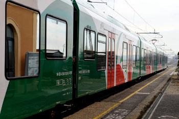 Treno - Foto Archivio Città metropolitana di Bologna