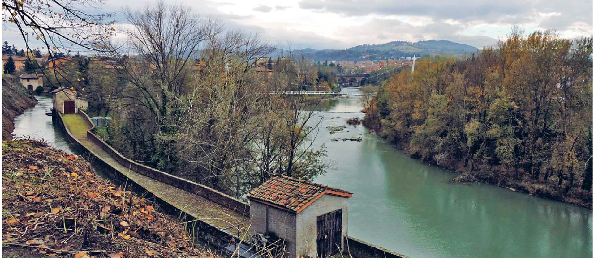 Canale del Reno - da Itinerari in Italia, testo e foto di Vito Paticchia