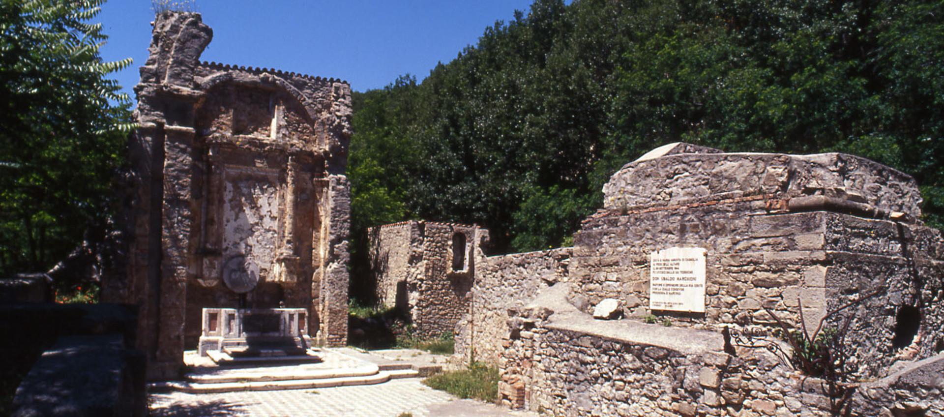 Foto: Monte Sole, Chiesa di Casaglia - Archivio Città metropolitana di Bologna