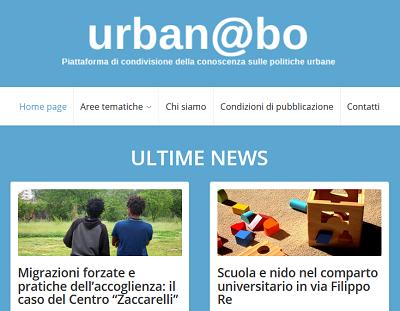 Home page del sito - dettaglio