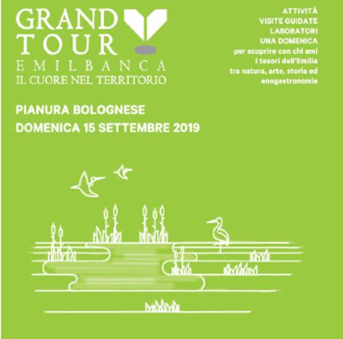 Grand Tour Emil Banca: domenica alla scoperta dei tesori della Pianura Bolognese