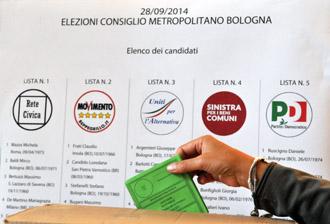 Domenica 28 settembre le elezioni del Consiglio metropolitano di Bologna