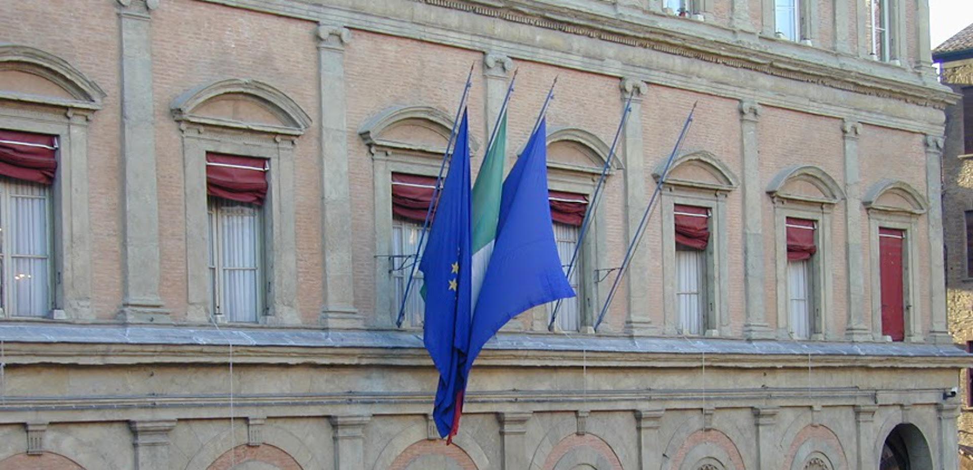 Facciata di palazzo Malvezzi