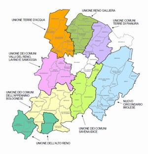 Cartina Territorio Città Metropolitana