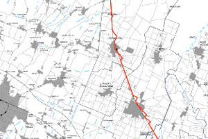 Mappa ciclovia
