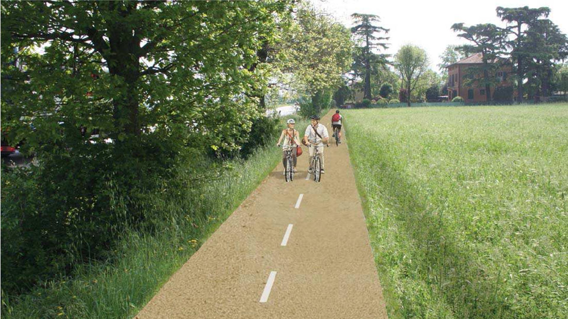 Ciclabili, ecco l'asse metropolitano della Via Emilia: 30 km da Bologna e Imola in bici