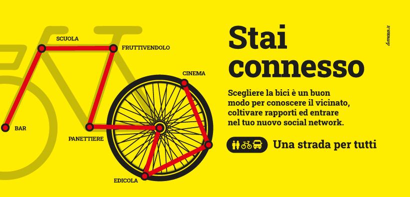 Campagna #andratuttiinbici: Stai connesso