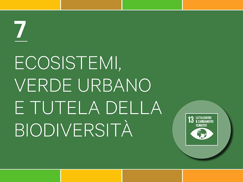 Ecosistemi, verde urbano e tutela della biodiversità