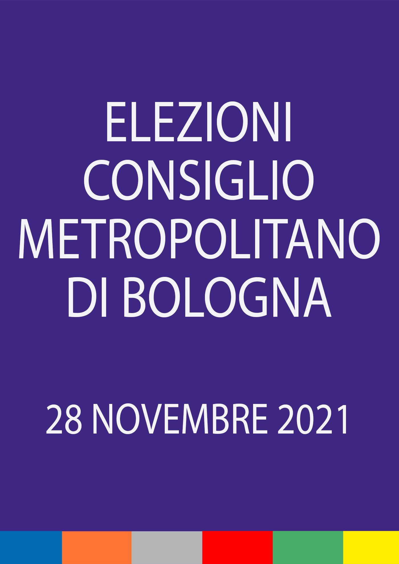 Elezioni del Consiglio metropolitano 2021