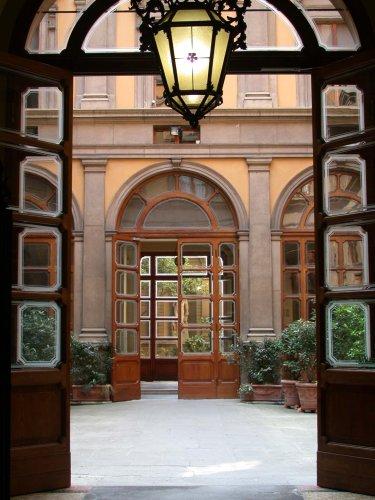 Le sale di palazzo Malvezzi
