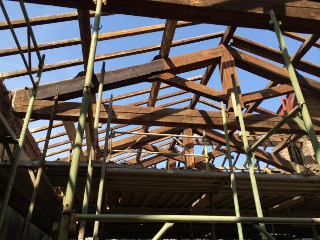 L'edificio ristrutturato