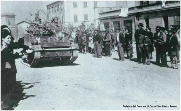 17 aprile 1945 Liberazione di Castel San Pietro