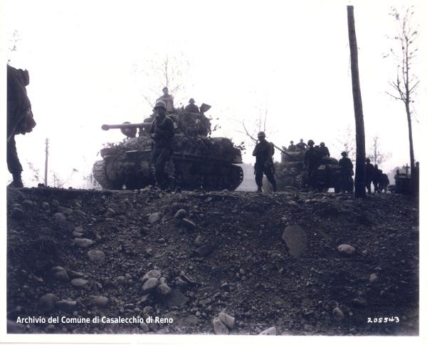 20 aprile 1945 Liberazione di Casalecchio di Reno