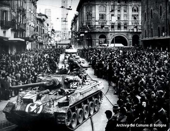 21 aprile 1945 - Liberazione di Bologna