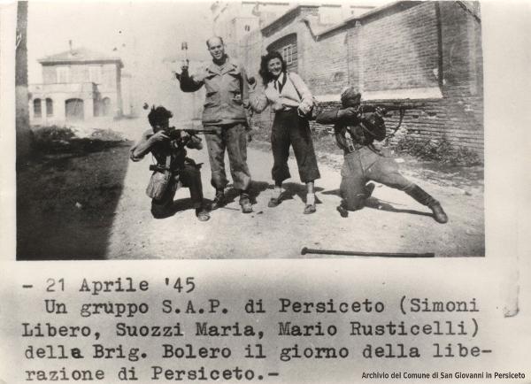 21 aprile 1945 - Liberazione di San Giovanni in Persiceto