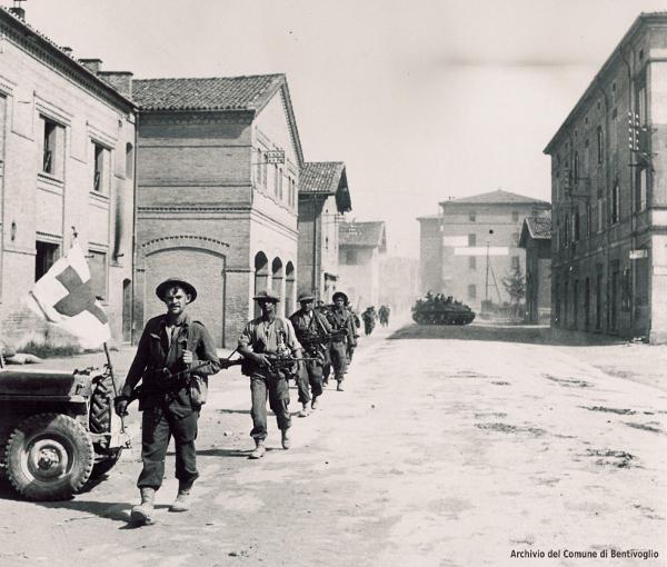 21 aprile 1945 - Liberazione di Bentivoglio