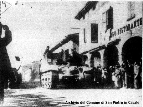 21 aprile 1945 - Liberazione di San Pietro in Casale