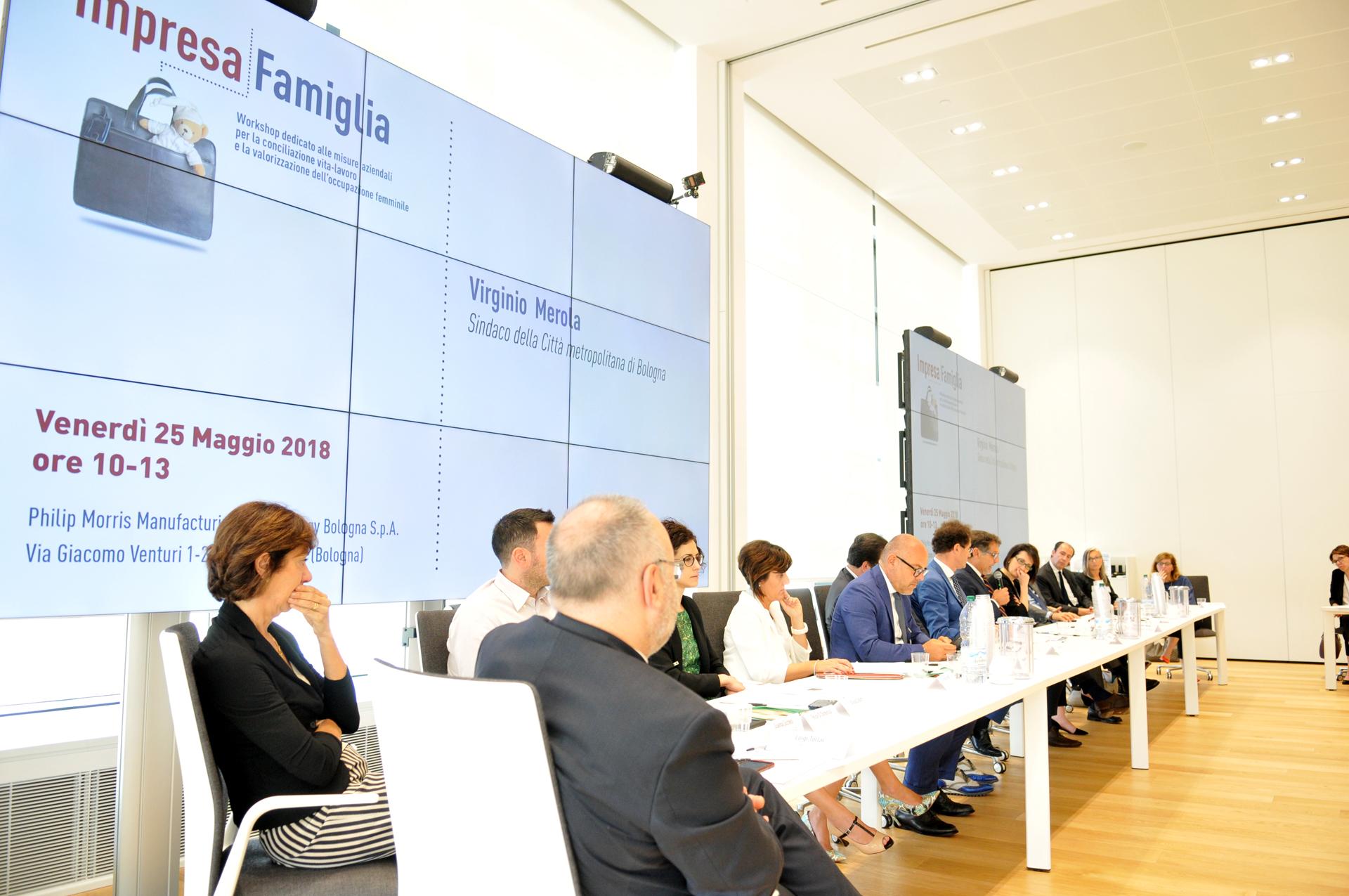 Impresa Famiglia. 25 maggio 2018