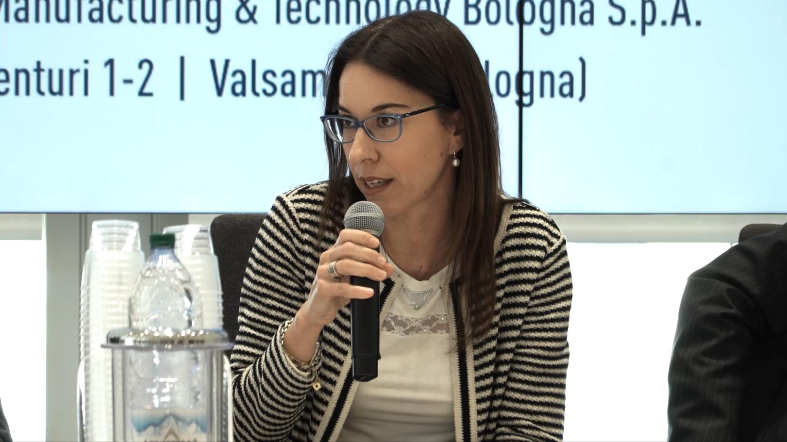 Cristiana D'Agostini, Director Organizational Development and Internal Communicatione, COESIA
