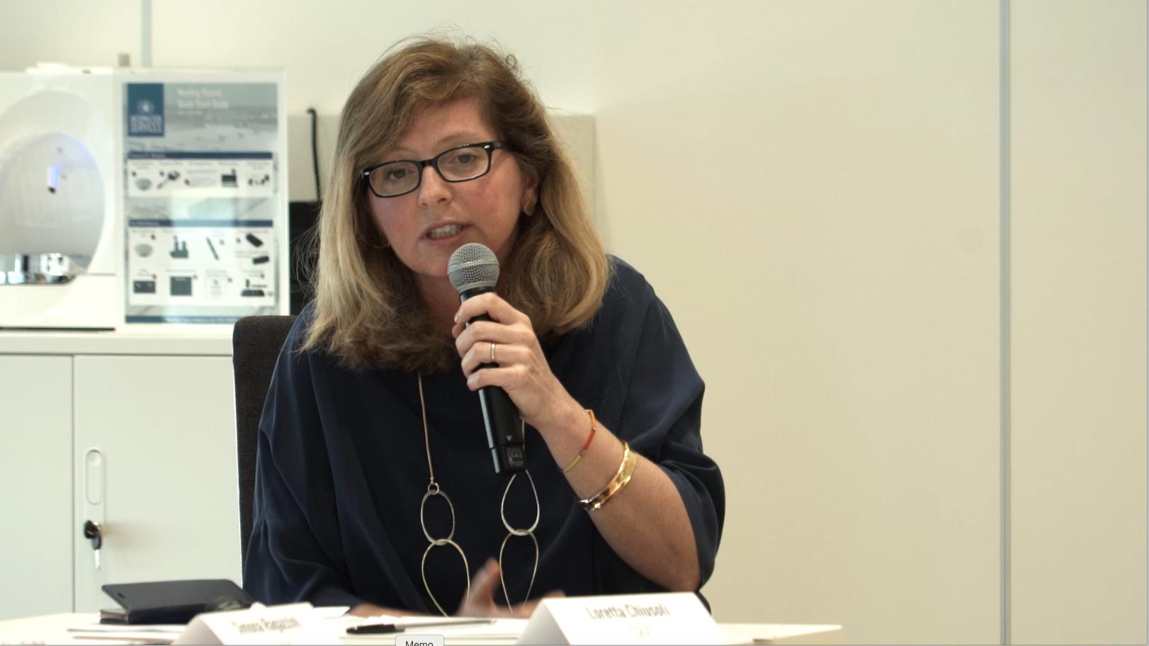 Loretta Chiusoli, HR Manager CRIF