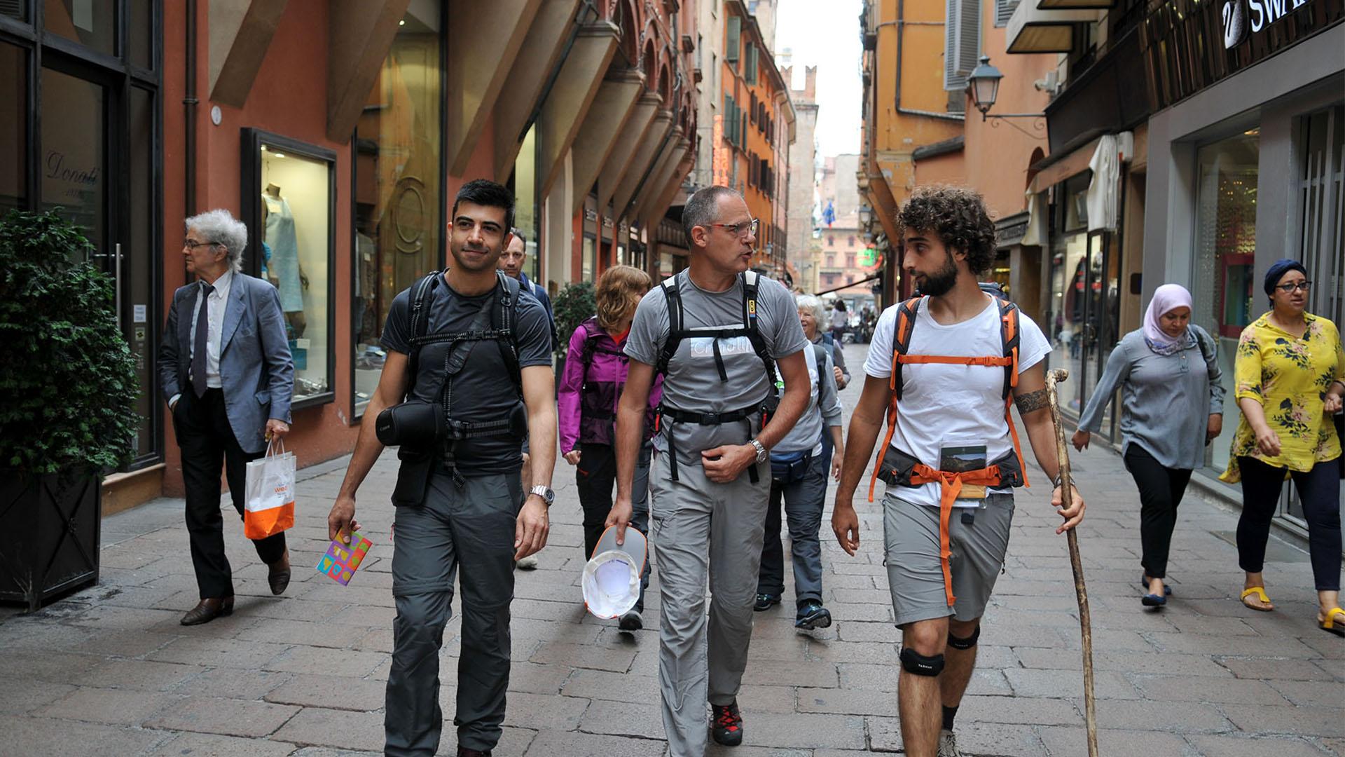 Partenza da Piazza Maggiore - Bologna