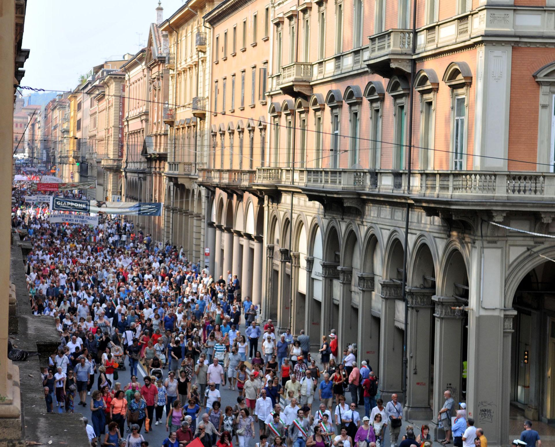 Bologna 2 Agosto 2018. 38° anniversario della strage