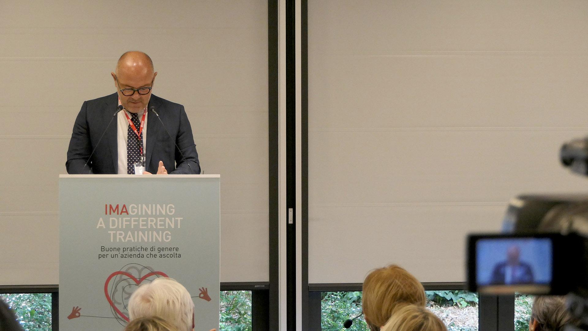 Massimo Ferioli, Direttore dell'Organizzazione, IMA