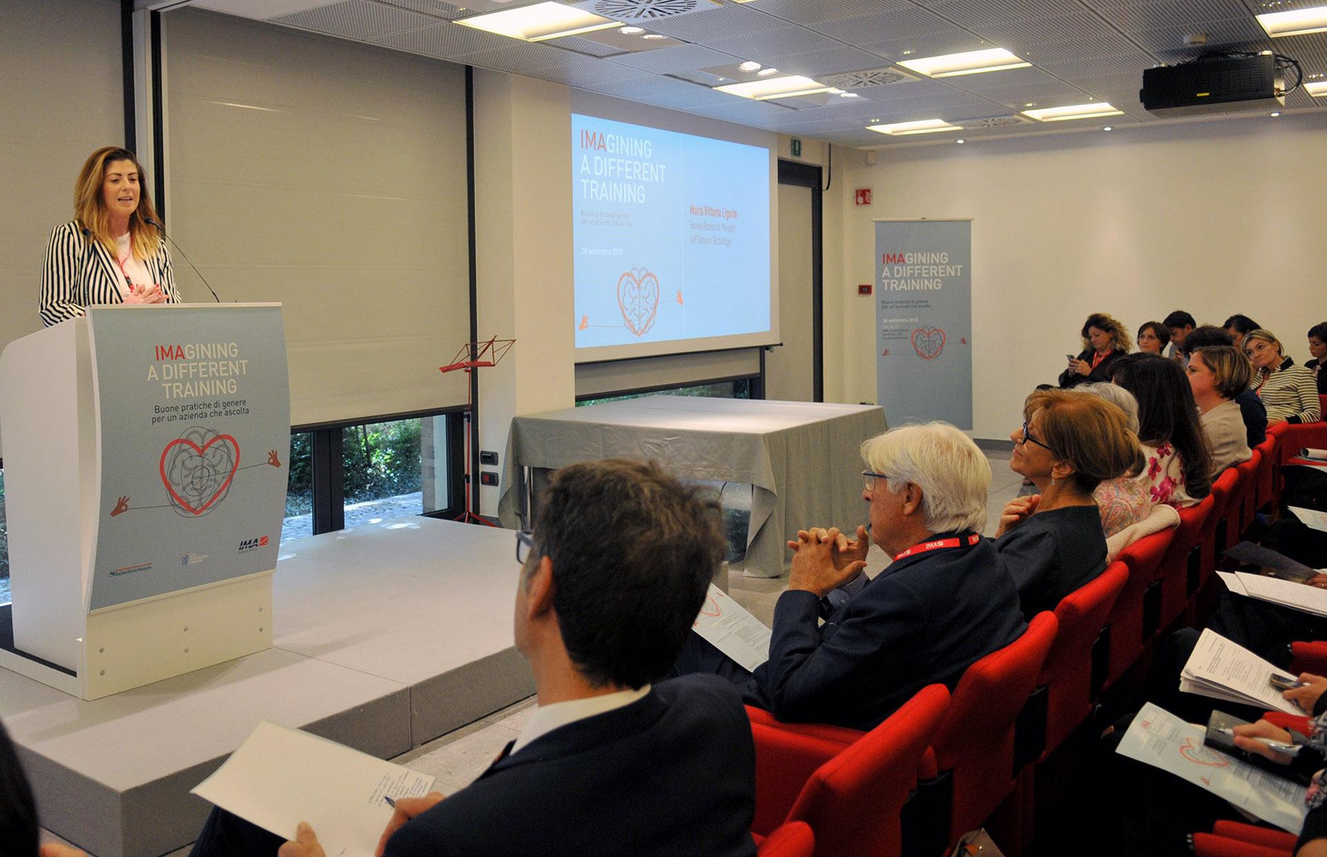 Maria Vittoria Ligorio, Human Resources Manager, DVP Vacuum Technology