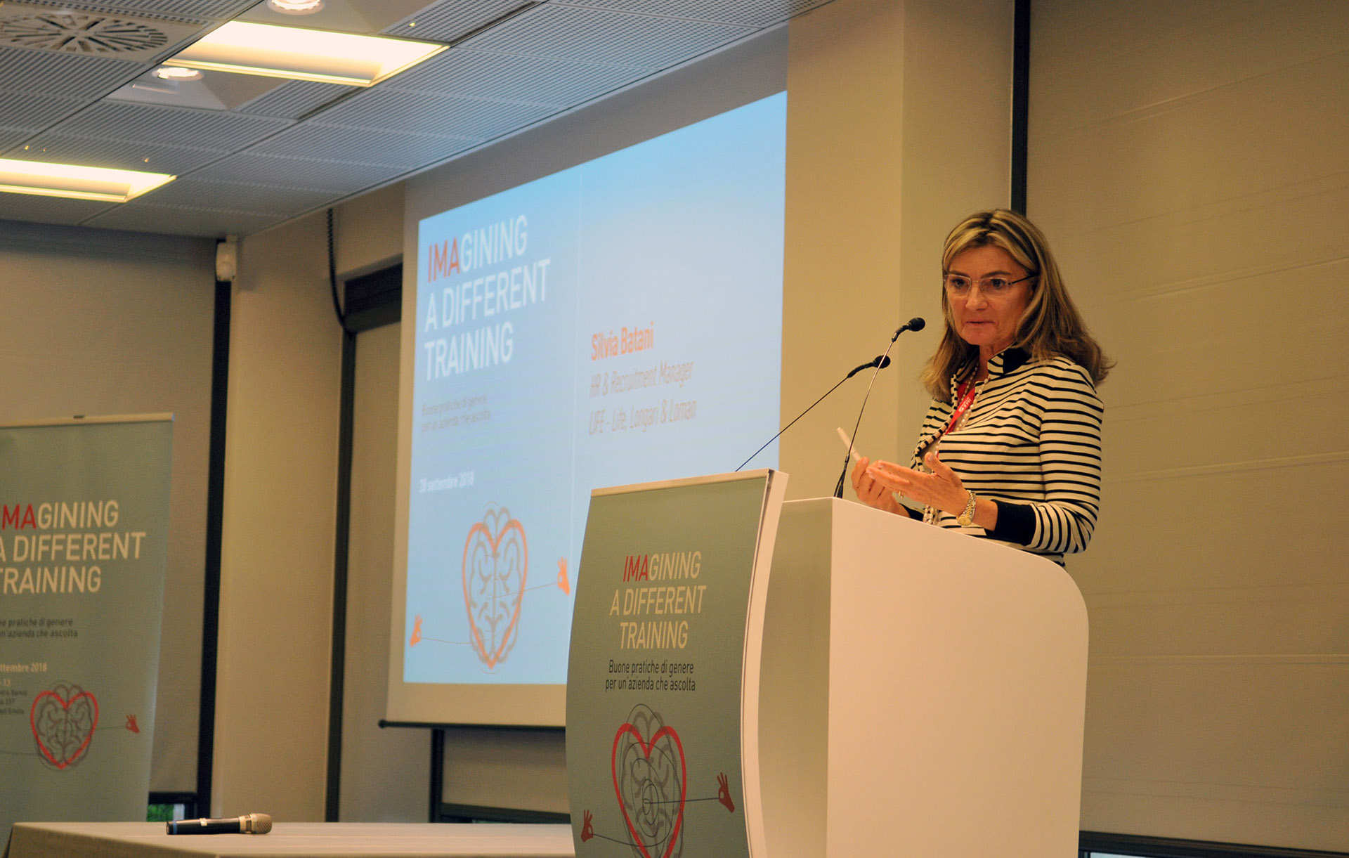 Silvia Batani, HR & Recruitment Manager, LIFE - Life, Longari & Loman