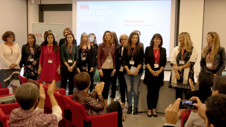 Alcune delle partecipanti al percorso di formazione