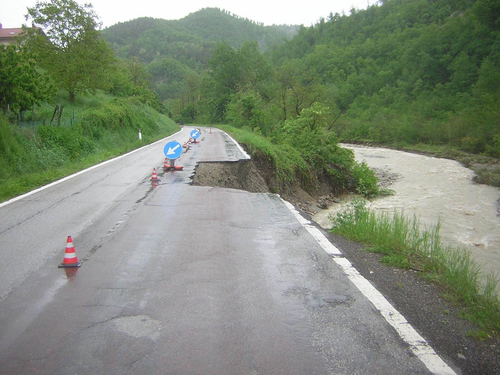 I danni del maltempo in Valsamoggia (12-13 maggio 2019