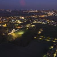 Argelato, panoramica su villa Beatrice