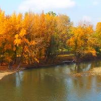 Lungo Reno dal ponte sulla via Emilia Ponente