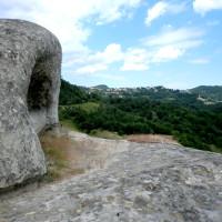 Erosione eolica su Molasse Arenacee