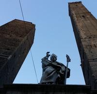 La statua di San Petronio