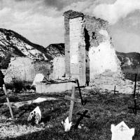 Scorcio del cimitero di Casaglia a Monte Sole