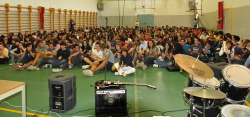 15/09/2010 - Primo giorno di scuola all'Istituto Fermi di Bologna
