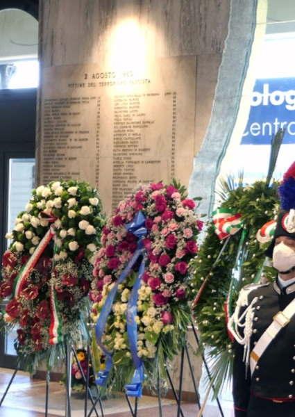 Le immagini della commemorazione del 2 agosto e delle stragi Italicus e 904