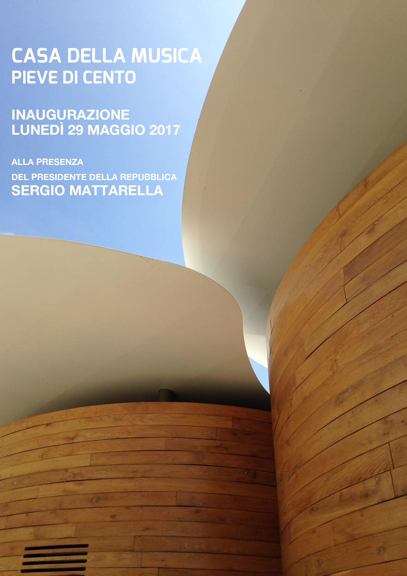 Inaugurazione della Casa della musica e visita del presidente Mattarella