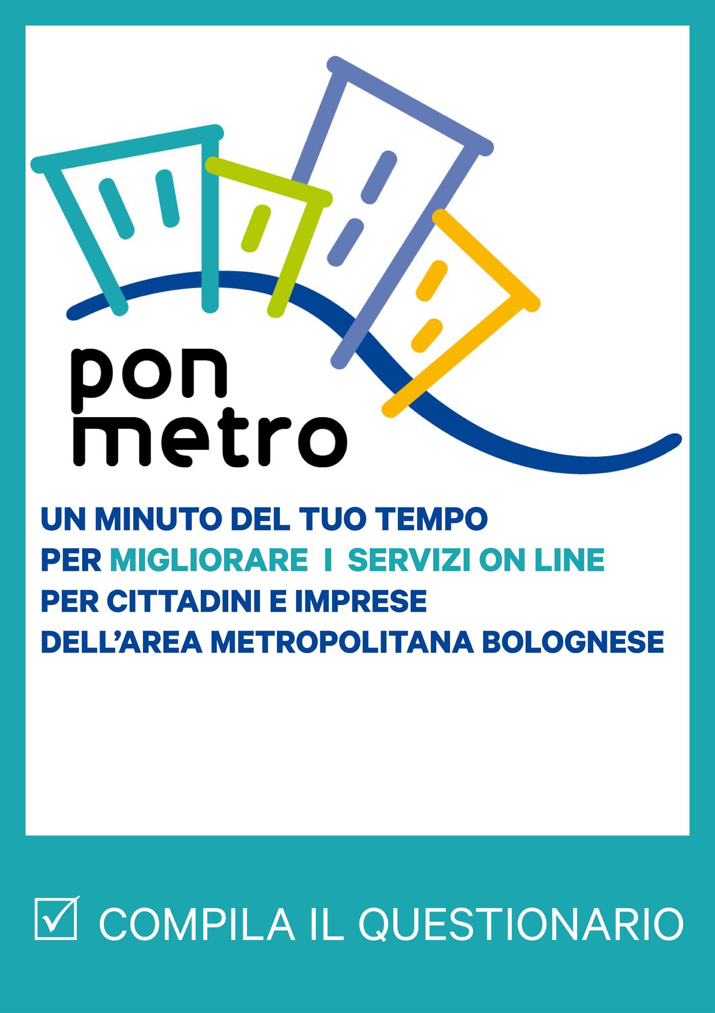 Questionario per i cittadini dei Comuni della città metropolitana di Bologna