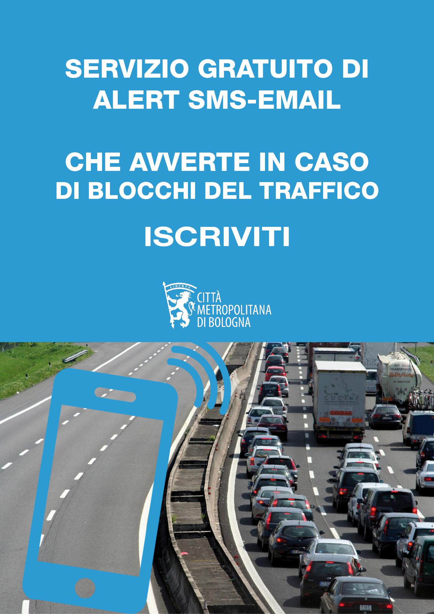 Servizio gratuito di Alert SMS (o email)