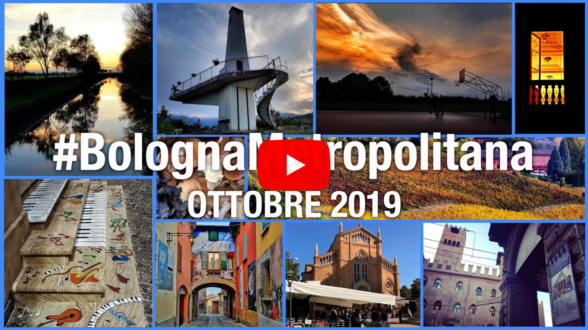 #BolognaMetropolitana - Le immagini più belle di ottobre 2019