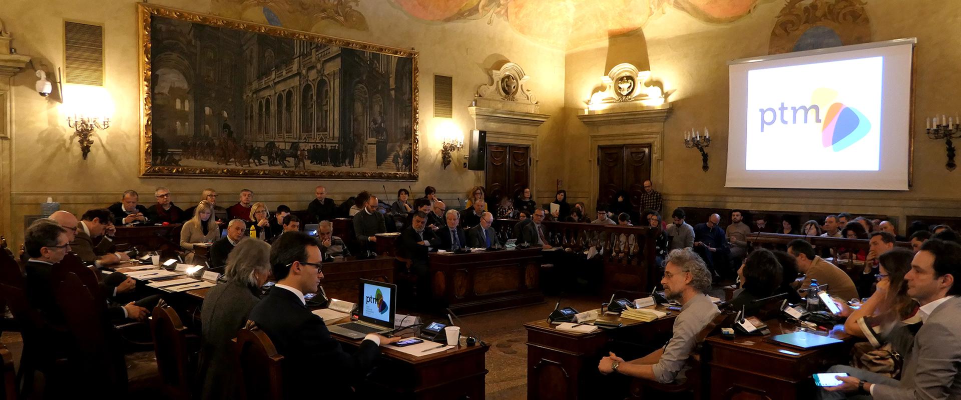Foto dell'incontro in Città metropolitana