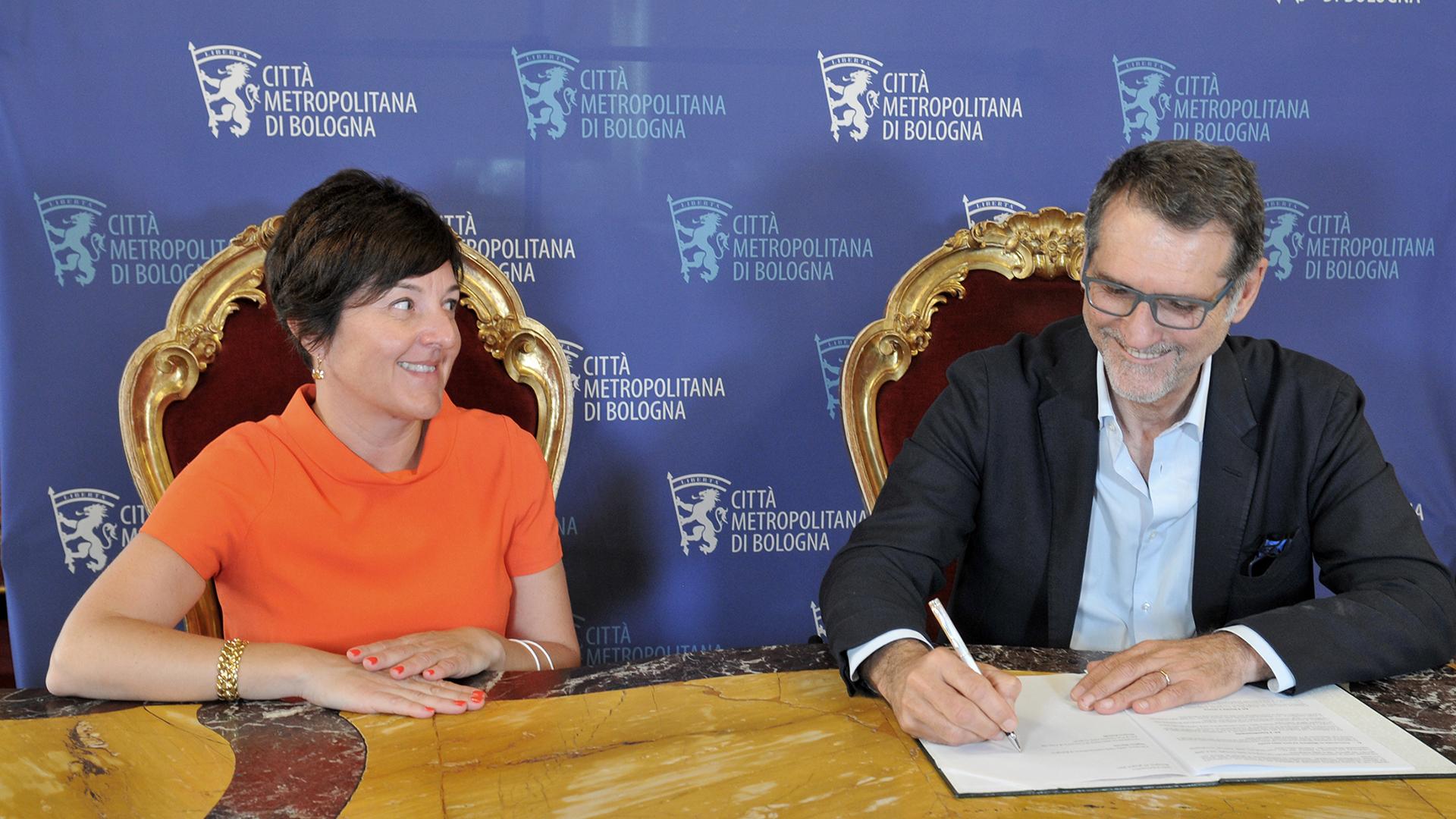 Merola e Robotti firmano il protocollo