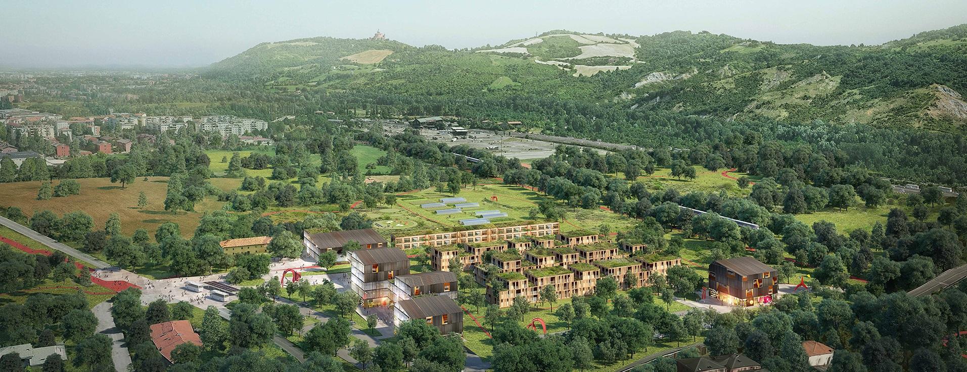 Area industriale dismessa ex Alfa Wassermann a BorgonuovoSasso Marconi