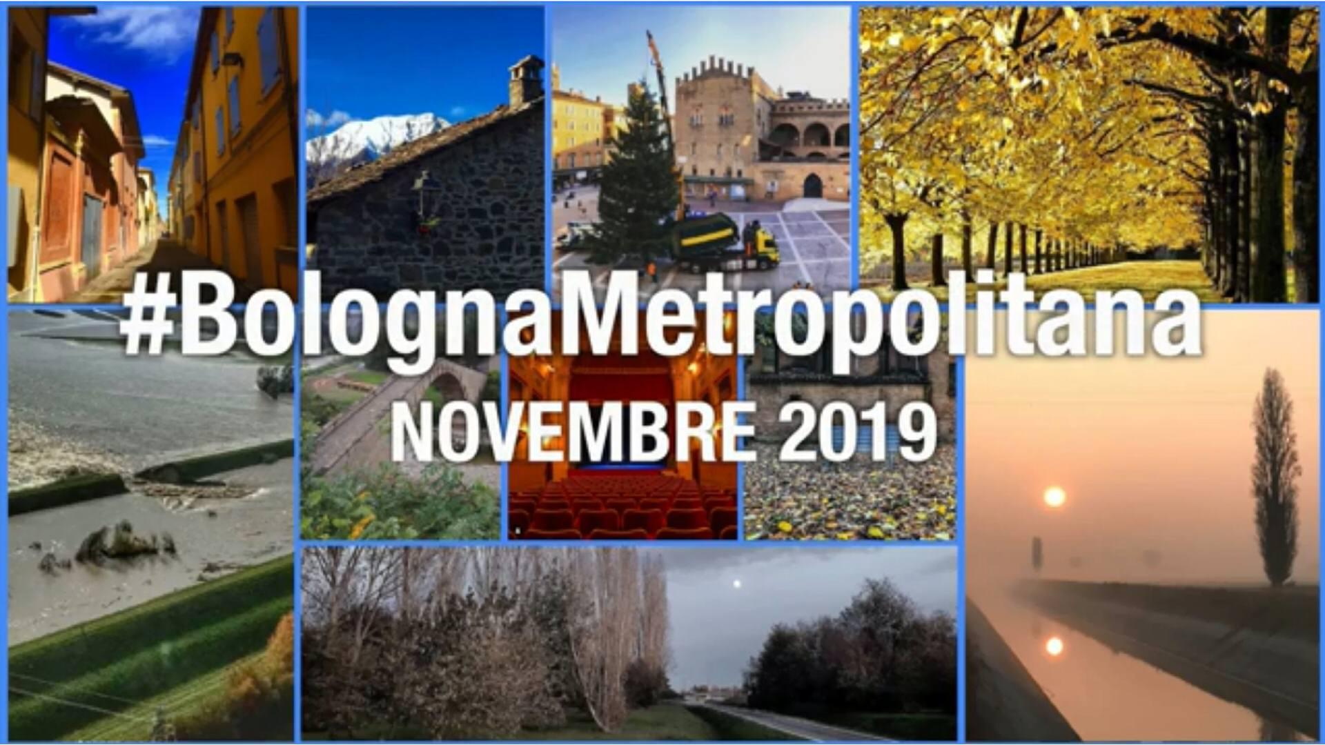 #BolognaMetropolitana - Le immagini più belle di novembre 2019