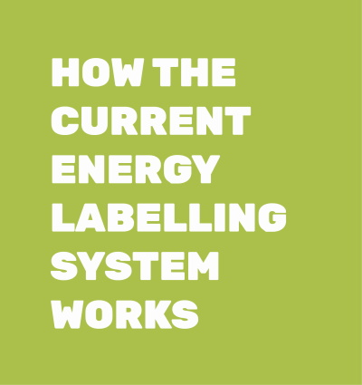 HOW THE CURRENT ENERGY LABELLING SYSTEM WORKS