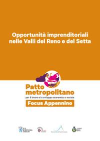 Opportunità imprenditoriali nelle Valli del Reno e del Setta