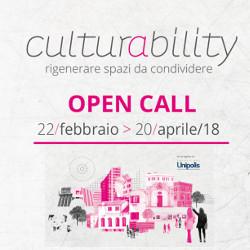 Bando Culturability - rigenerare spazi da condividere